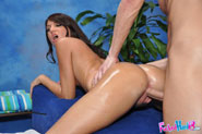 Hot 18 Year Old Cassandra Nix Gives More Than Just A Massage - Picture 14