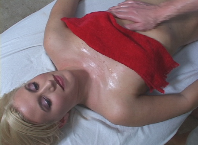 Hot blonde fucked hard and facialed by her massage therapist from Fucked Hard 18