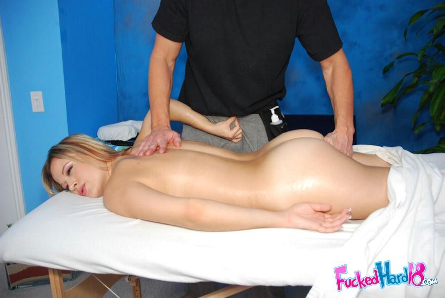 Ass massage for a good girl