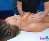 Sexy Tori Black fucked hard and facialed by her massage therapist from Fucked Hard 18